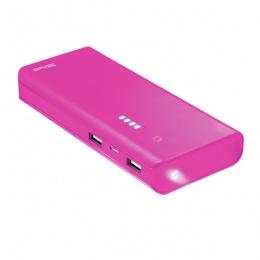 Trust power bank 10000mAh PRIMO pink