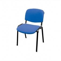 Konferencijska stolica 3002 crna, plava i crvena