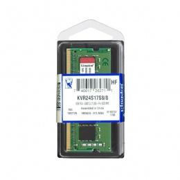 Kingston 8GB 2400MHz DDR4 SODIMM, KVR24S17S8/8