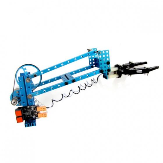 Makeblock Maker Kits Robotić Arm Add-on Pack for Starter Robot Kit- Plavi