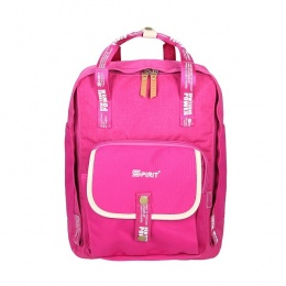 Ruksak školski Spirit City Rush pink