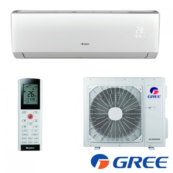 GREE klima Lomo Regular inverter GWH12QC-K6DNA5D Wi-Fi, R32