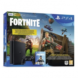Sony PlayStation 4 Slim E chassis 500GB Black + Fortnite RBP VCH