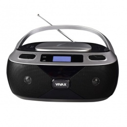 Vivax prijenosni radio CD player APM-1040 Bluetooth silver