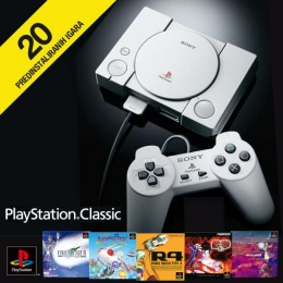 SONY PLAYSTATION CLASSIC + 20 igrica