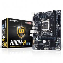 Gigabyte MB GA-H110M-H, LGA 1151, Intel H110