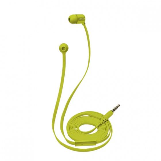 Trust slušalice DUGA IN-EAR žute