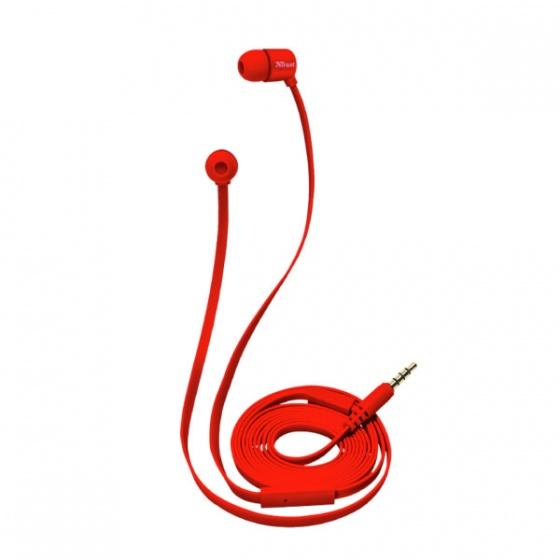 Trust slušalice DUGA IN-EAR crvene