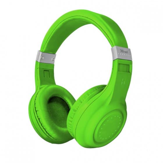 Trust slušalice wireless bluetooth DURA zelene