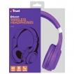 Trust slušalice wireless bluetooth DURA ljubičaste