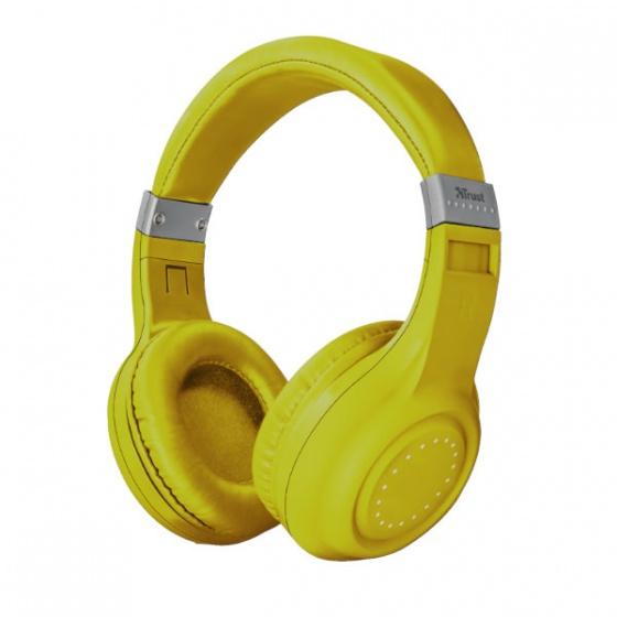 Trust slušalice wireless bluetooth DURA žute