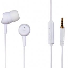 Hama slušalice Basic In-Ear+ mikrofon, bijele