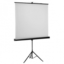 SBOX platno za projektore 240x240cm samostojeće-tronožacPSMT-135