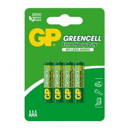 Baterija GP GREENCELL AAA 1,5V blister 4/1 B1211