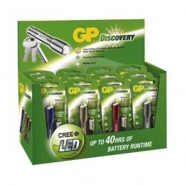 GP lampa baterijska LED LCE202 12kom