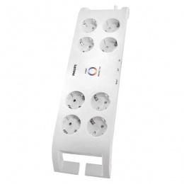 Philips prenaponska zaštita 8 utičnica, 2m P54220 bijela