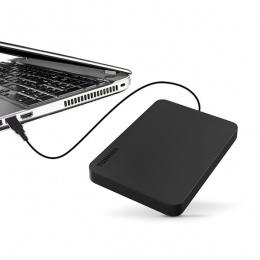 Toshiba Externi HDD 500GB, HDTB405EK3AA, 2,5 USB 3.0 crni