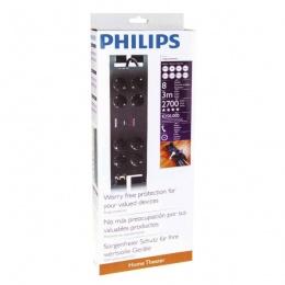 Philips prenaponska zaštita 8 utičnica P54240 3m crna