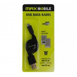 Max Mobile USB Data kabal samouvlačni 849