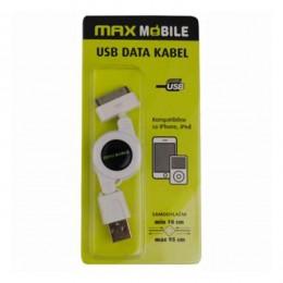 Max Mobile USB Data kabal samouvlačni za iPhone 933