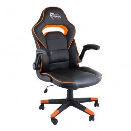White Shark stolica gaming Chair Sheba crno/narandžasta