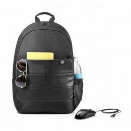 HP ruksak 15.6'' Classic Backpack + HP miš 1FK04AA crni