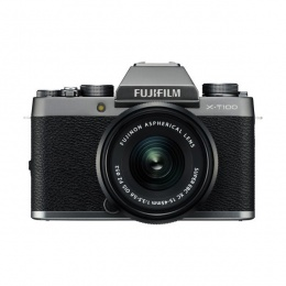 Fuji X-T100 15-45mm silver