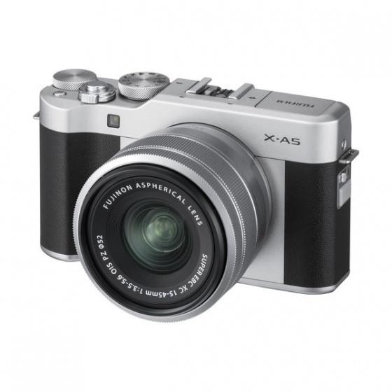 Fuji X-A5 15-45mm Silver