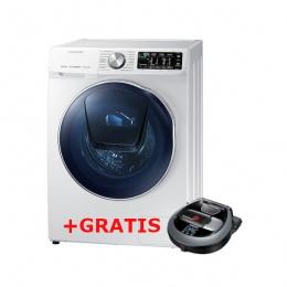 Mašina za pranje i sušenje rublja Samsung WD90N644OOW 9kg+ gratis Usisivač robot Samsung VR10M703HWG
