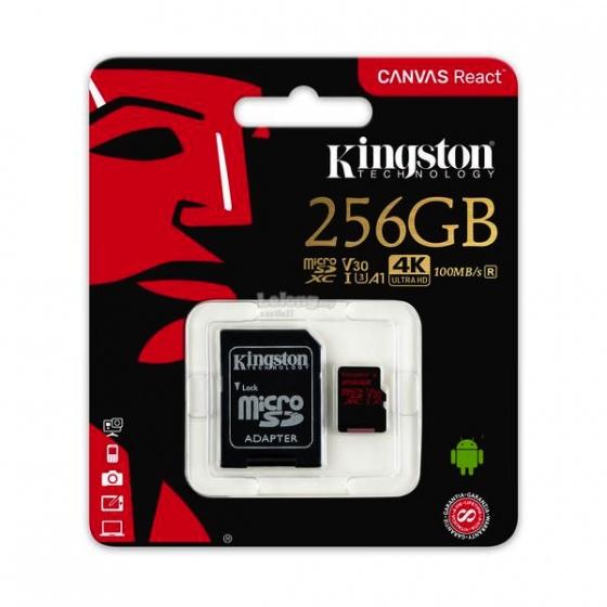 Kingston MC MicroSD 256GB Class 10 UHS-I U3, SDCR/256GB