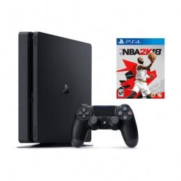 Sony PlayStation 4 Slim 500GB crni + igra NBA 2K18 - Ograničena količina