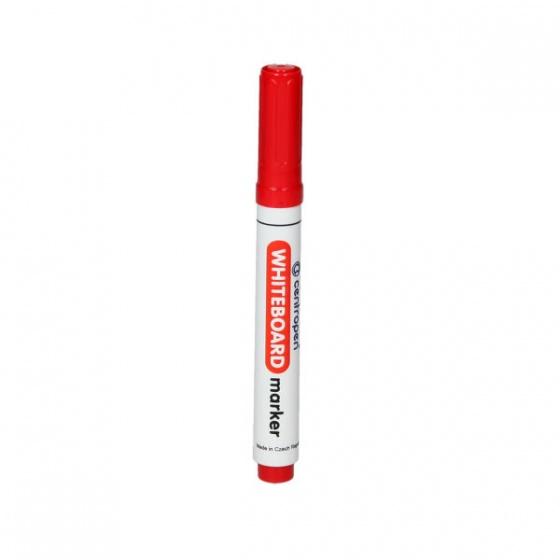 Marker za tabu piši-briši Whiteboard ogrugli vrh 2,5mm crveni, CP