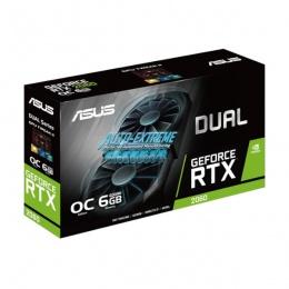 Asus nVidia GeForce DUAL RTX 2060 O6G 6 GB DDR6