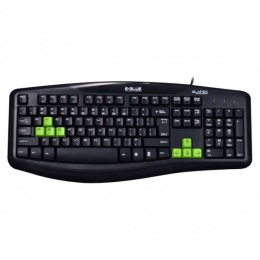 E-Blue tastatura ELATED Black