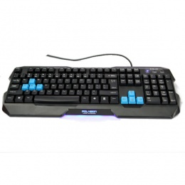 E-Blue tastatura POLYGON Black
