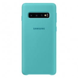 Samsung Galaxy S10 Silicone Cover zeleni