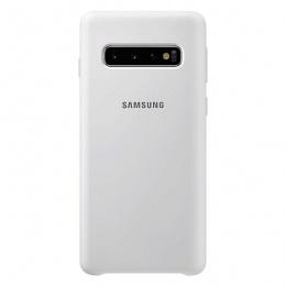 Samsung Galaxy S10 Silicone Cover bijeli