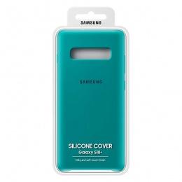 Samsung Galaxy S10+ Silicone Cover zeleni