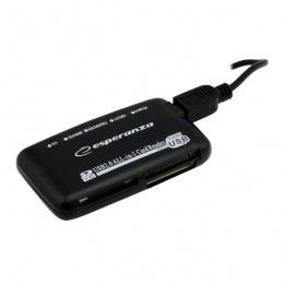 Esperanza čitač kartica USB 2.0 EA117