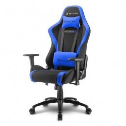 Sharkoon stolica gaming Shark Skiller SGS2 K/BU crna/plava