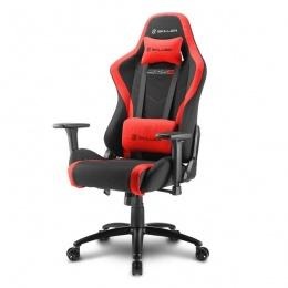 Sharkoon stolica gaming Shark Skiller SGS2 K/RD crna/crvena