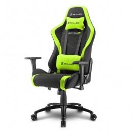 Sharkoon stolica gaming Shark Skiller SGS2 K/GN crna/zelena