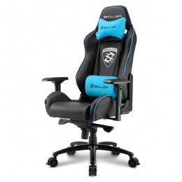 Sharkoon stolica gaming Shark Skiller SGS3 K/BU crna/plava