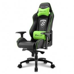 Sharkoon stolica gaming Shark Skiller SGS3 K/GN crna/zelena
