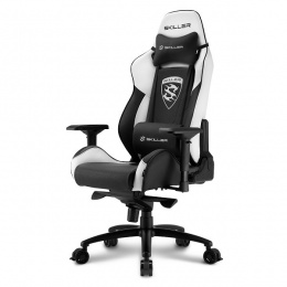 Sharkoon stolica gaming Shark Skiller SGS3 K/WH crna/bijela