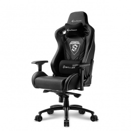 Sharkoon stolica gaming Shark Skiller SGS4 K crna
