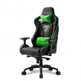 Sharkoon stolica gaming Shark Skiller SGS4 K/GN crna/zelena