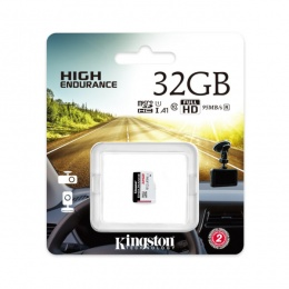 Kingston MC MicroSD 32GB High Endurance, SDCE/32GB