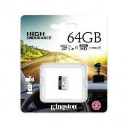Kingston MC MicroSD 64GB High Endurance, SDCE/64GB
