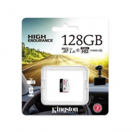Kingston MC MicroSD 128GB High Endurance, SDCE/128GB